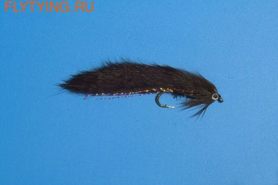 GFT 15155 Мушка стример Mini Zonker Black