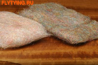 Hareline 57065 Смесовый синтетический даббинг Rainbow Scud Dub