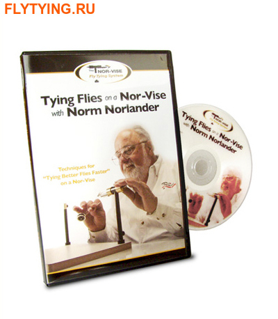 Norvise™ 92012 DVD ''Tying Flies on a Norvise with Norm Norlander''