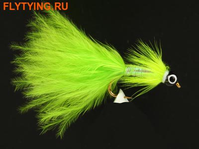 A.Jensen 15163 Мушка стример Pearly Nobbler Chartreuse