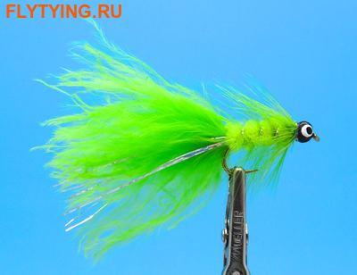 A.Jensen 15173 Мушка стример Mini Dog Nobbler Chartreuse