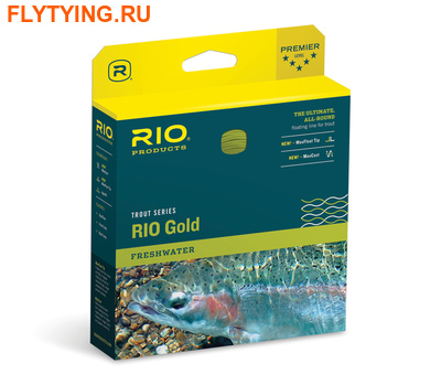 Rio 10249 Нахлыстовый шнур Gold (фото)