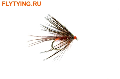 Fulling Mill 13073 Мокрая мушка Fiery Brown