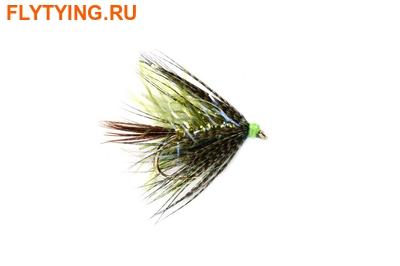 Fulling Mill 13119 Мокрая мушка Straggler Olive UV