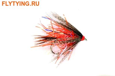 Fulling Mill 13120 Мокрая мушка Straggler Orange UV
