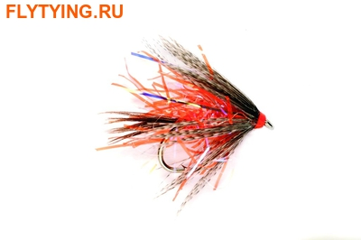 Fulling Mill 13120 Мокрая мушка Straggler Orange UV