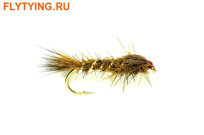 Fulling Mill 14270 Мушка нимфа GRHE Olive Weighted