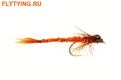 Fulling Mill 14280 Мушка нимфа Living Damsel Fiery Brown