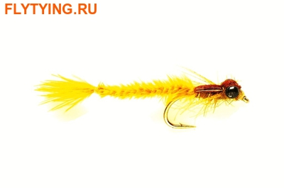Fulling Mill 14281 Мушка нимфа Living Damsel Gold Olive