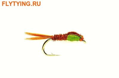 Fulling Mill 14289 Мушка нимфа Pheasant Tail Green Thorax