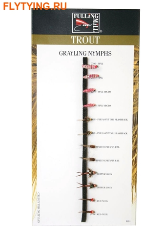 Fulling Mill 20056 Набор мушек Grayling Nymphs Selection