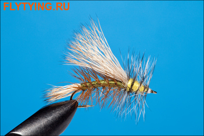 Rusangler 11152 Сухая мушка Kaufmann's Stimulator Olive