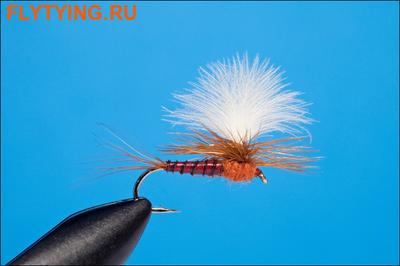 Rusangler 11158 Сухая мушка Rusty Parachute Cream CDC