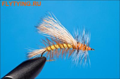 Rusangler 11164 Сухая мушка Yellow Stimulator