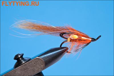 Rusangler 16152 Лососевая мушка Schiftes Thunder and Light Treble