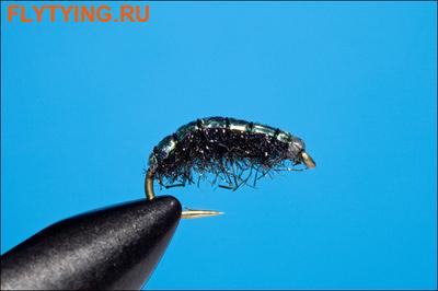 Rusangler 14325 Мушка нимфа Czech Nymph Black