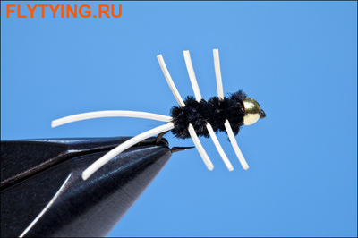 Rusangler 14328 Мушка нимфа Girdle Bug Bead Head