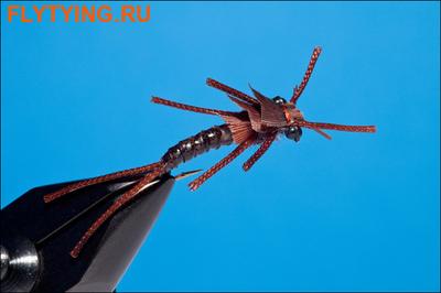 Rusangler 14330 Мушка нимфа Kaufman's Stonefly Black Brown