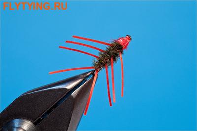 Rusangler 14333 Мушка нимфа Red Wee Beastie