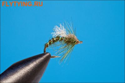 Rusangler 14339 Мушка нимфа Olive Buzzer