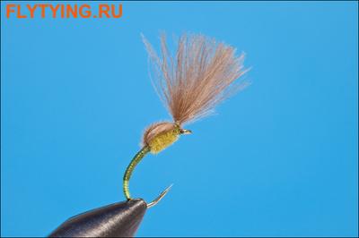 Rusangler 12031 Мушка эмеджер CDC Special Olive/Yellow Butt