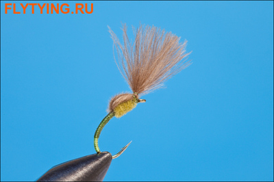 Rusangler 12031 Мушка эмеджер CDC Special Olive/Yellow Butt