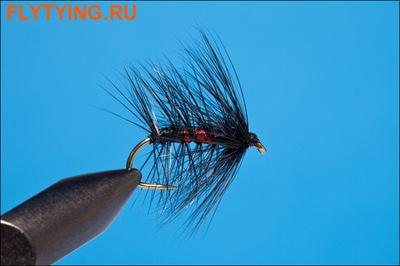 Rusangler 13151 Мокрая мушка Bibio Hackled Wet