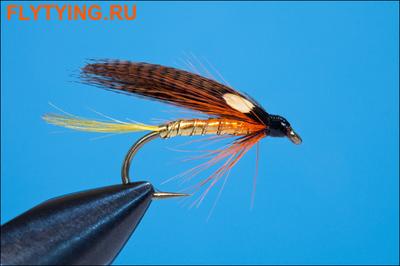 Rusangler 13157 Мокрая мушка Dunkeld Winged Wet JC