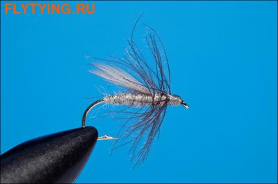 Rusangler 13159 Мокрая мушка Grey Gnat Wet