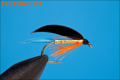 Rusangler 13160 Мокрая мушка Kingfisher Butcher Winged Wet