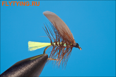 Rusangler 13162 Мокрая мушка Pearly Yellow Whickham's Fancy Winged Wet