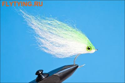 Rusangler 18016 Морская м ушка Diamond Hair Streamer Chartreuse