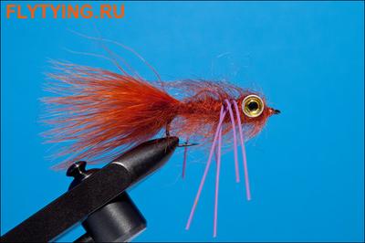 Rusangler 15275 Мушка стример Brown Perch Streamer