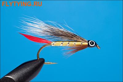 Rusangler 15287 Мушка стример Professor Bucktail