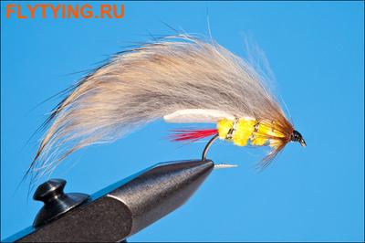 Rusangler 15288 Мушка стример Rabbit Yellow