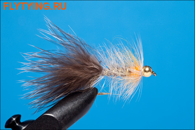 Rusangler 15308 Мушка стример TB Grey Streamer Barbless