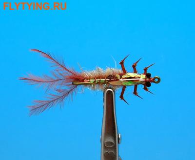 Artflies 14390 Мушка нимфа Realistic Isonychia Nymph (фото)