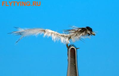 Artflies 14398 Мушка нимфа поденки Realistic Extended Body Swimming Nymph Gray (фото)
