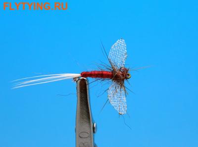 Artflies 11197 Сухая мушка Burnt Wing Spinner Rusty (фото)