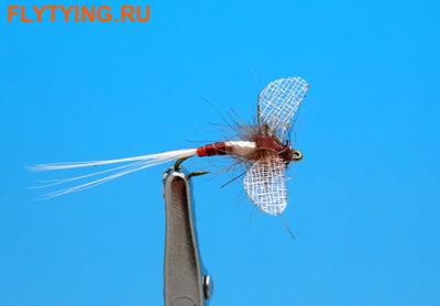 Artflies 11201 Сухая мушка Burnt Wing Spinner Blue Quill (фото)