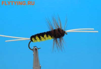 Pacific Fly Group 14410 Мушка нимфа Bitch Creek Yellow