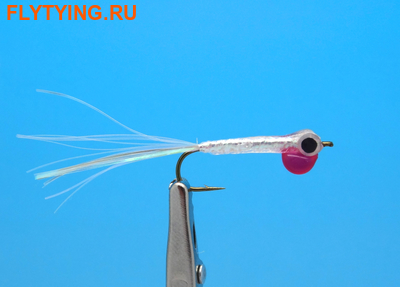 Pacific Fly Group 15355 Мушка стример Glue Gun Fry Pink Lady