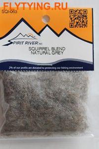Spirit River 57073 Смесовый даббинг Squirrel Blend Dubbing (фото)