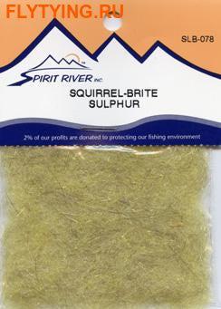 Spirit River 57076 Смесовый даббинг Squirrel Brite Dubbing