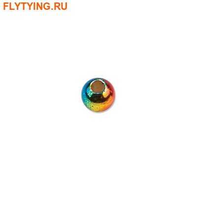 FLY-FISHING 58069 Латунные головки радужной окраски Rainbow Brass Beads (фото)