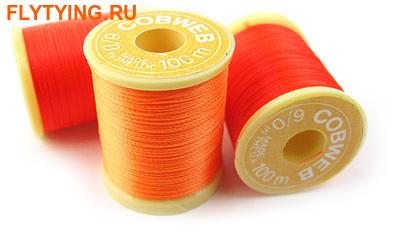 Gordon Griffiths™ 51052 Суперяркие монтажные нити Cobweb Superglo 6/0 Tying Thread (фото)