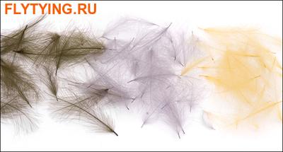 Nature's Spirit 53276 Перья утки Bulk Duck Cul de Canard (CDC) - 1 gr (фото)