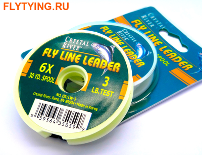 Crystal River 10594 Поводковый материал Fly Line Leader (фото)