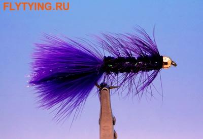 Pacific Fly Group 15364 Мушка стример BH Kristal Bugger Purple (фото)