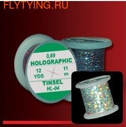 Hends Products 54015 Голографический плоский люрекс Holographic Tinsel